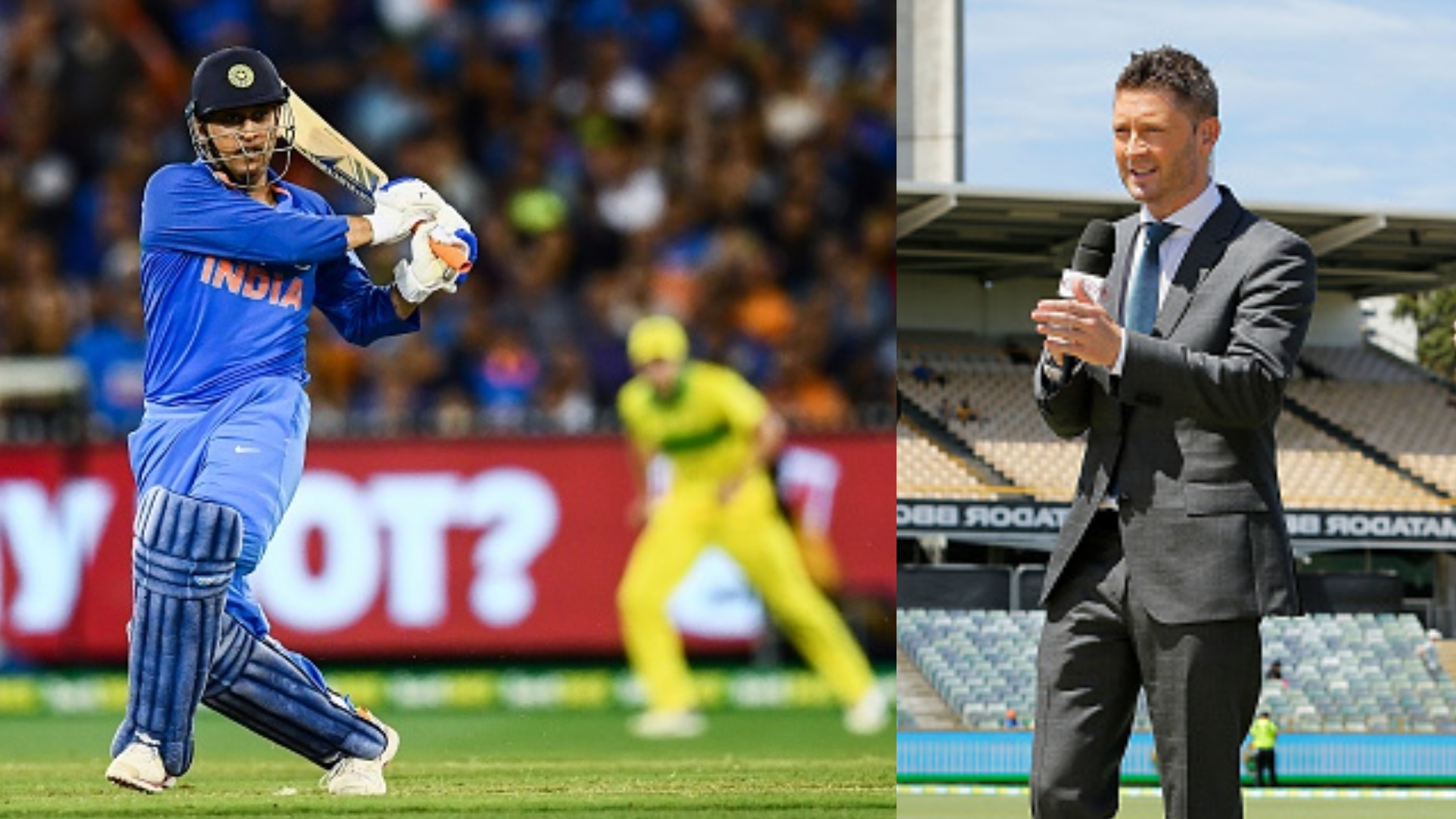 AUS v IND 2018-19: MS Dhoni has gone from a Lamborghini to an Aston Martin, says Michael Clarke