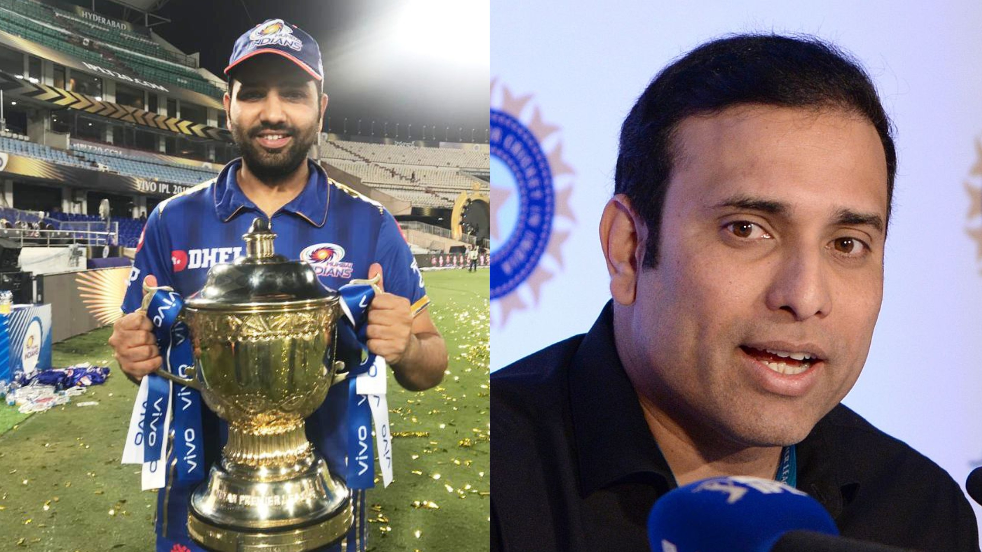 VVS Laxman says Rohit Sharma's ability to handle pressure makes him IPL's most successful captain