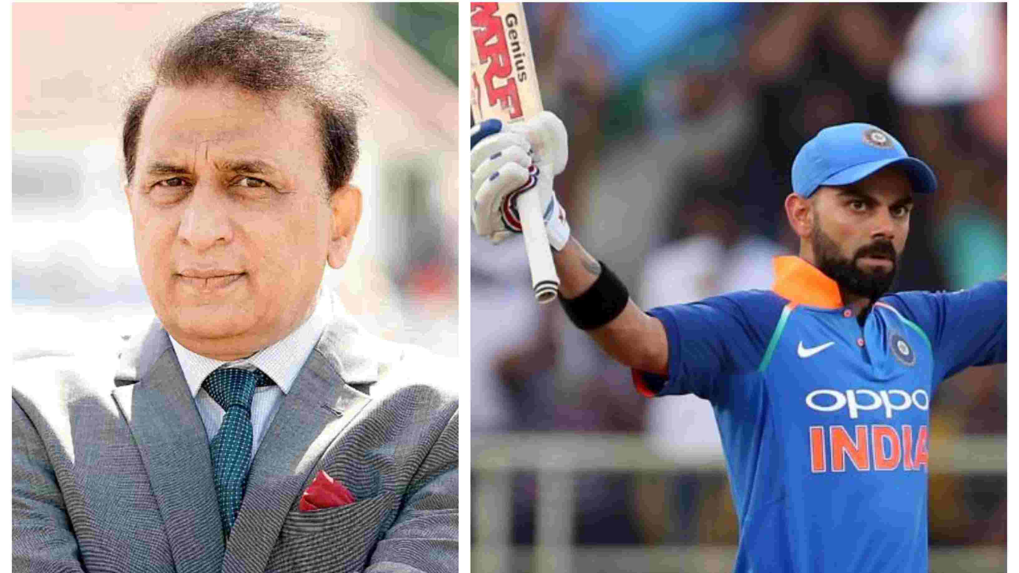IND v WI 2018: Sunil Gavaskar tips Virat Kohli to break all the batting records