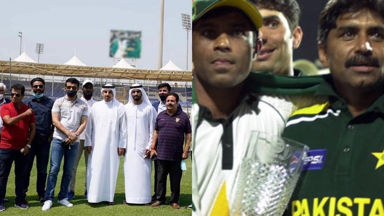 IPL 2020: Sourav Ganguly visits Sharjah Stadium; blurs Pakistani players' photo in background