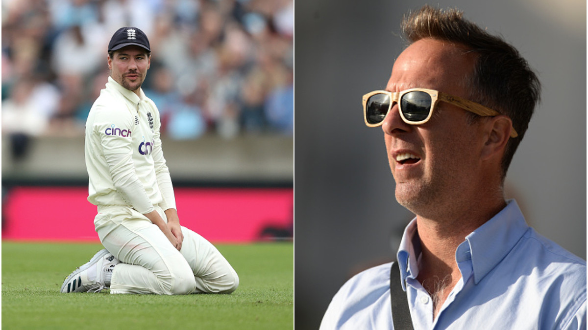 ENG v IND 2021: Michael Vaughan takes a jibe at Rory Burns for dropping Rohit Sharma twice