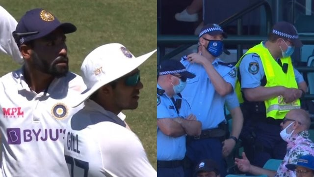 AUS v IND 2020-21: CA offers unreserved apology over racial abuse to Indian players; fans evicted from SCG