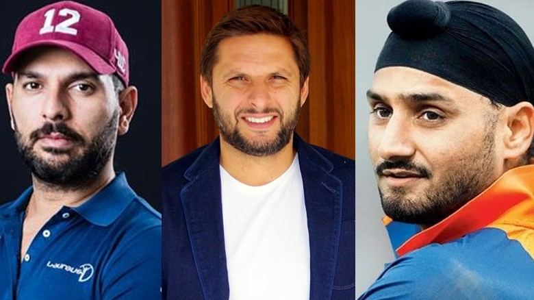 Afridi reacts as Yuvraj, Harbhajan face backlash for supporting his foundation in fight against COVID-19