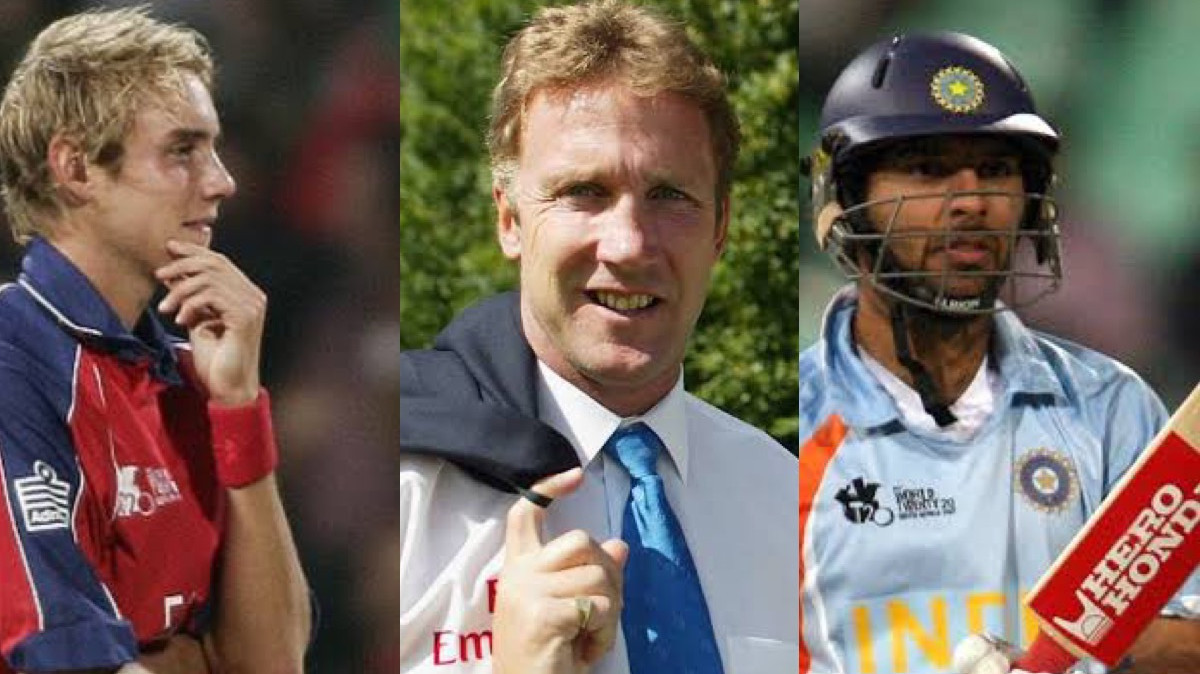 Yuvraj Singh reveals conversation with Stuart Broad's father after hitting pacer for six sixes