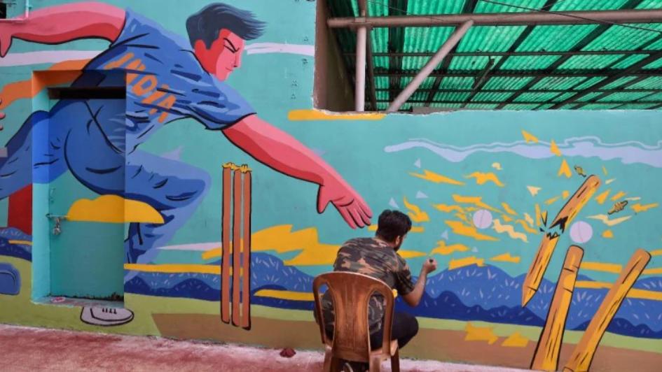 IND v BAN 2019: गुलाबी गेंद टेस्ट से पहले गुलाबी रंग में रंगा पूरा कोलकाता