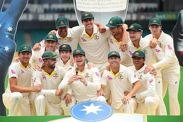 Australia won the series 4-0. (Getty)