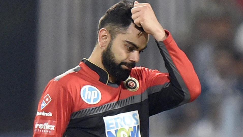 IPL 2018: हार के बाद विराट कोहली पर लगा 12 लाख रुपये का जुर्माना