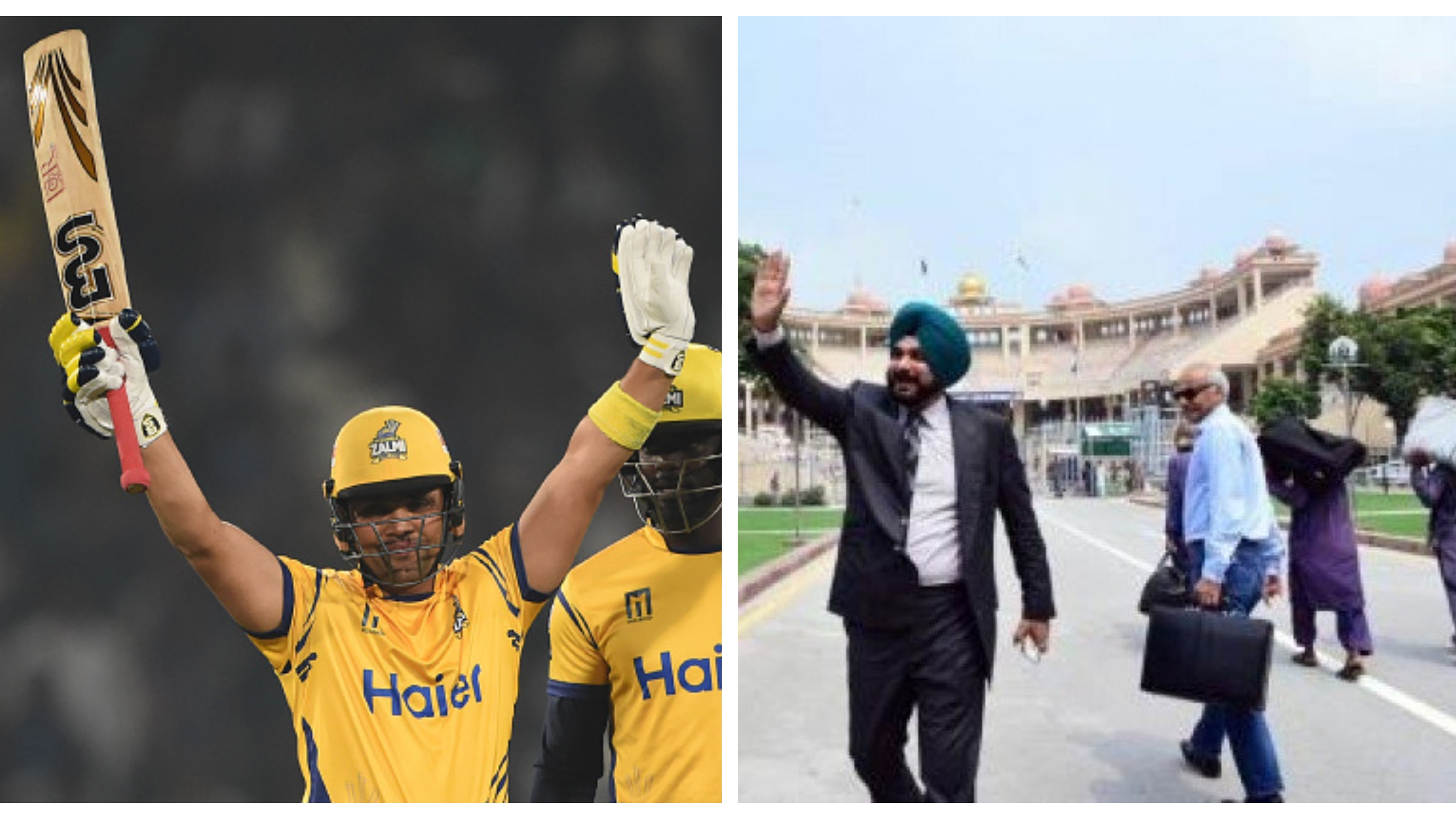 Kamran Akmal thanks Navjot Singh Sidhu for visiting Pakistan