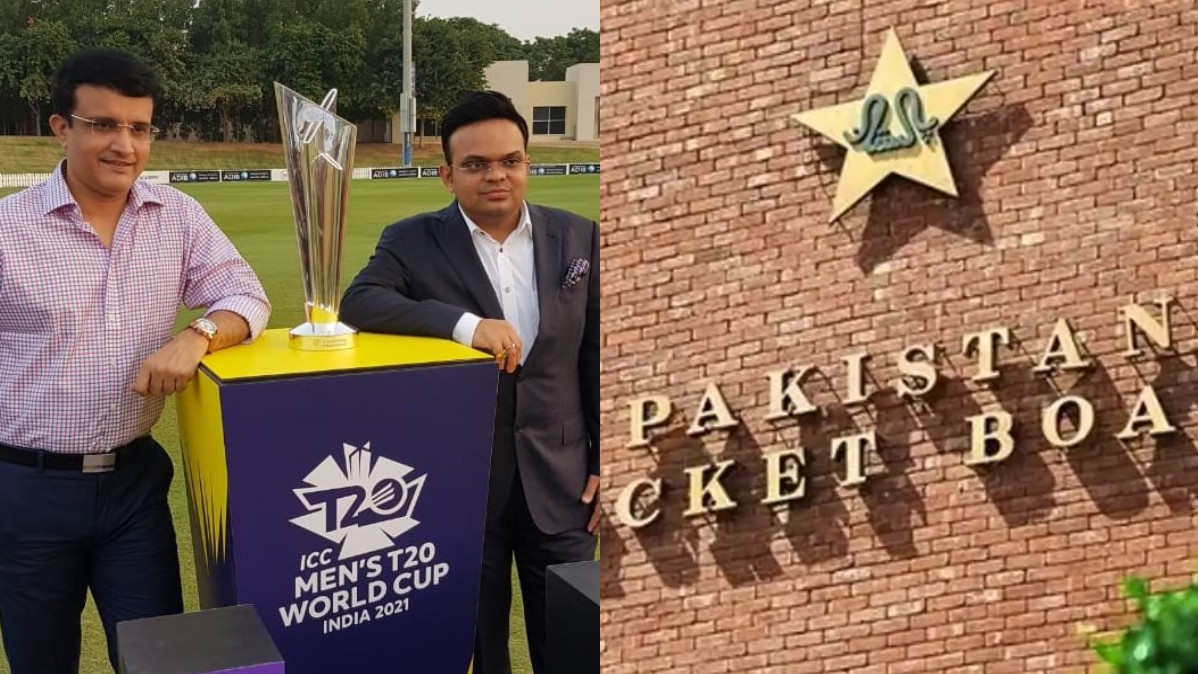 BCCI addresses PCB's concerns over visas for the T20 World Cup 2021