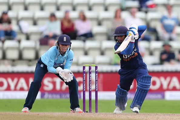 Mithali Raj during the ODI series against England Women | Getty