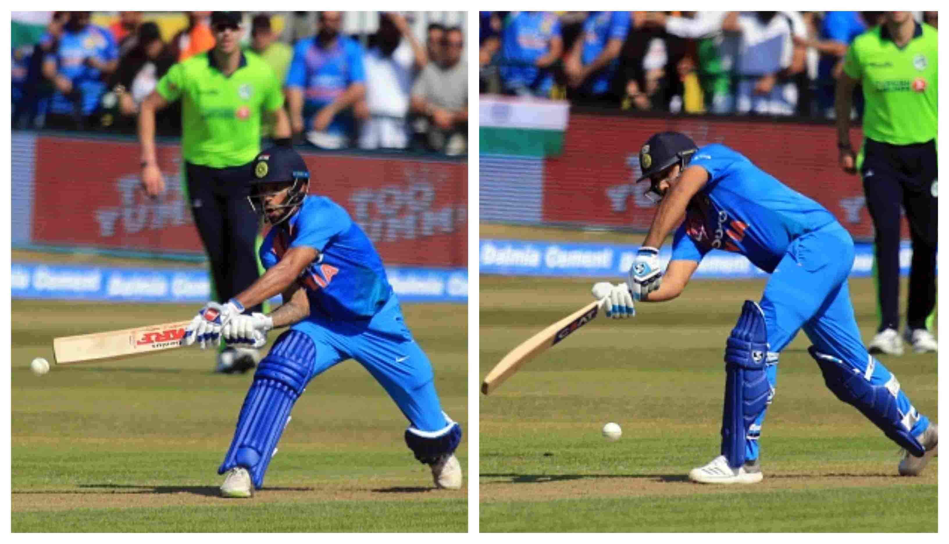 Rohit and Dhawan added 160 runs for the opening wicket in the first T20I against Ireland | Getty