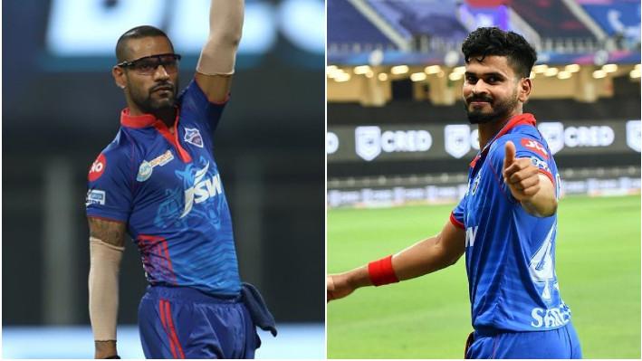 IPL 2021: Shreyas Iyer shares a hilarious meme on Shikhar Dhawan's 'thigh-five' celebration