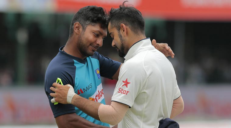 Kumar Sangakkara is perhaps one of the greatest batsman to play at no.3 along with Virat Kohli | AFP