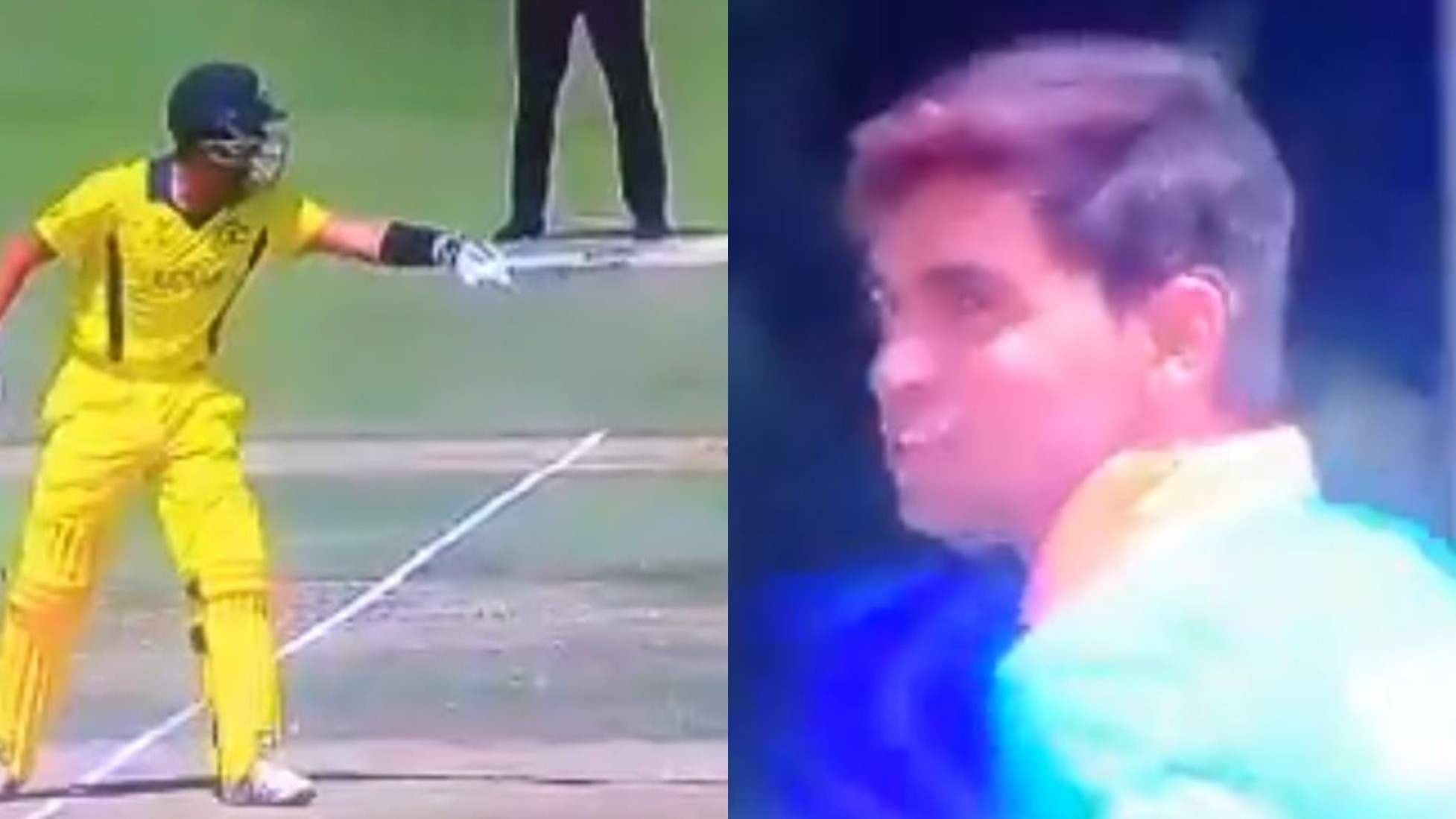 U19CWC 2020: WATCH- Kartik Tyagi's perfect revenge on Oliver Davies after being sledged by him
