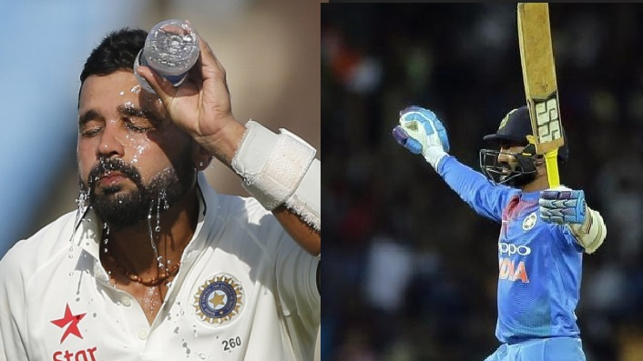 Twitter lashes out at Murali Vijay for ignoring Dinesh Karthik in his congratulatory tweet