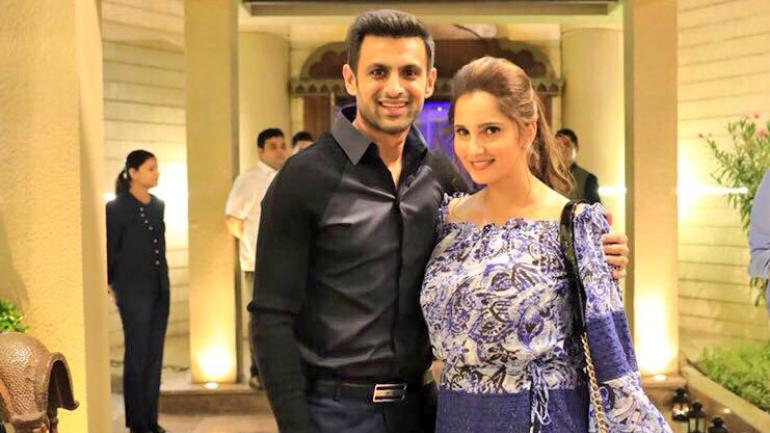 Sania Mirza and Shoaib Malik married each other on April 12, 2010.