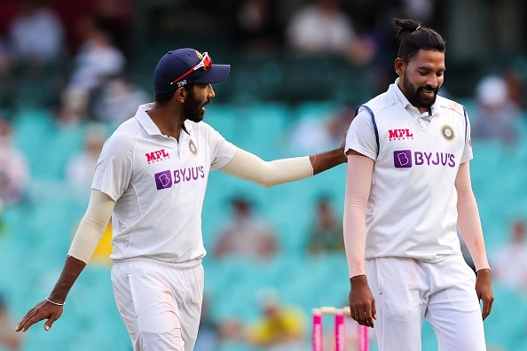 Mohammed Siraj and Jasprit Bumrah were racially abused by SCG crowd | Getty