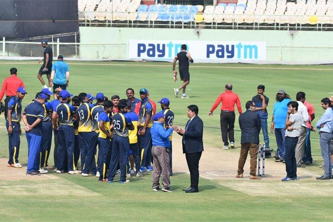 बीसीसीआई हैदराबाद-कर्नाटक के बीच हुए T20  मैच की रेफरी की रिपोर्ट का कर रहा है इंतजार