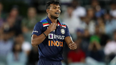 IND v ENG 2021: T Natarajan's participation under clouds for early part of the T20I series – Report