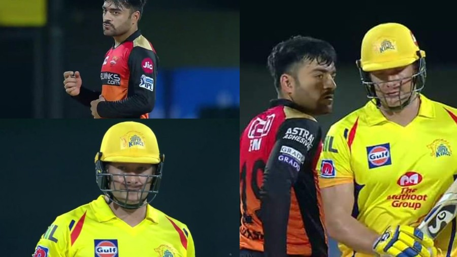 IPL 2019: Shane Watson hammers Rashid Khan after a stare down, Twitter turns it into a meme