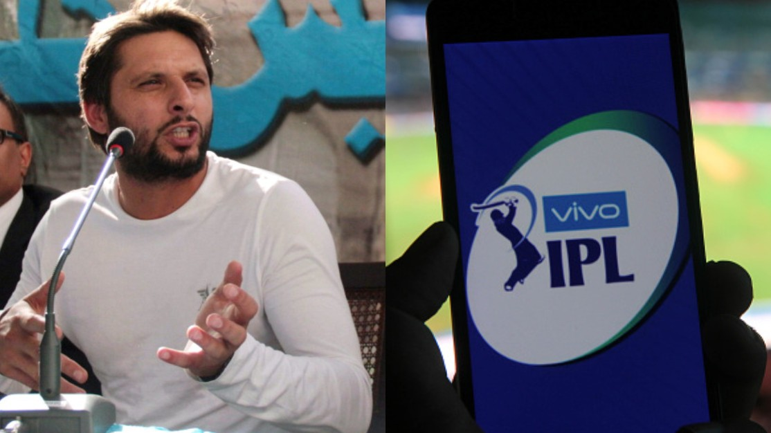 Sri Lankan players want to come to Pakistan but are being threatened by IPL franchises, claims Shahid Afridi