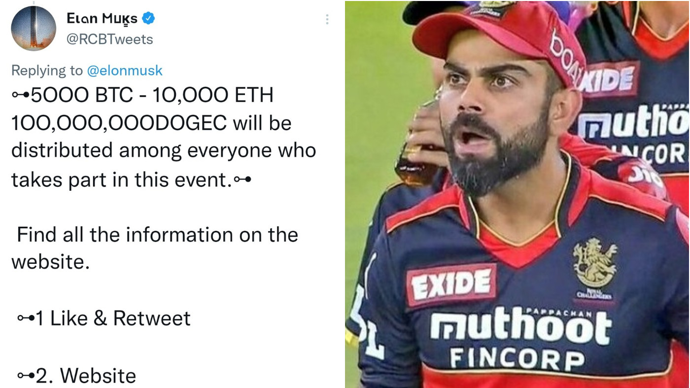 RCB apologizes to fans after their Twitter account got hacked