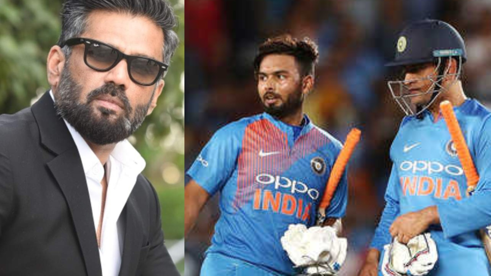 WATCH- MS Dhoni or Rishabh Pant? Suniel Shetty chooses his Indian T20 World Cup squad