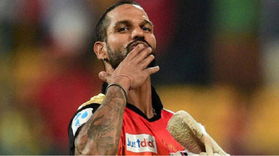 IPL 2018: Shikhar Dhawan meets his