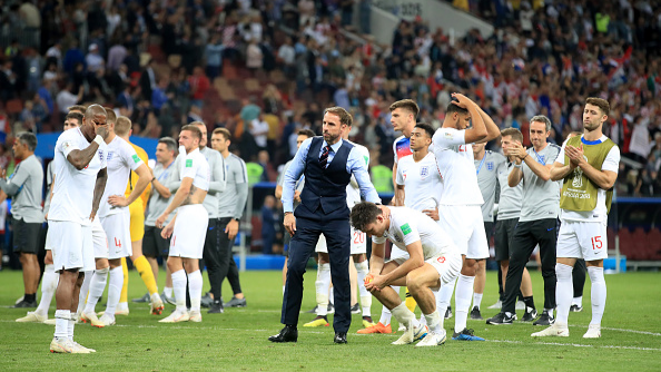 English cricketers show support to England football team after their loss to Croatia