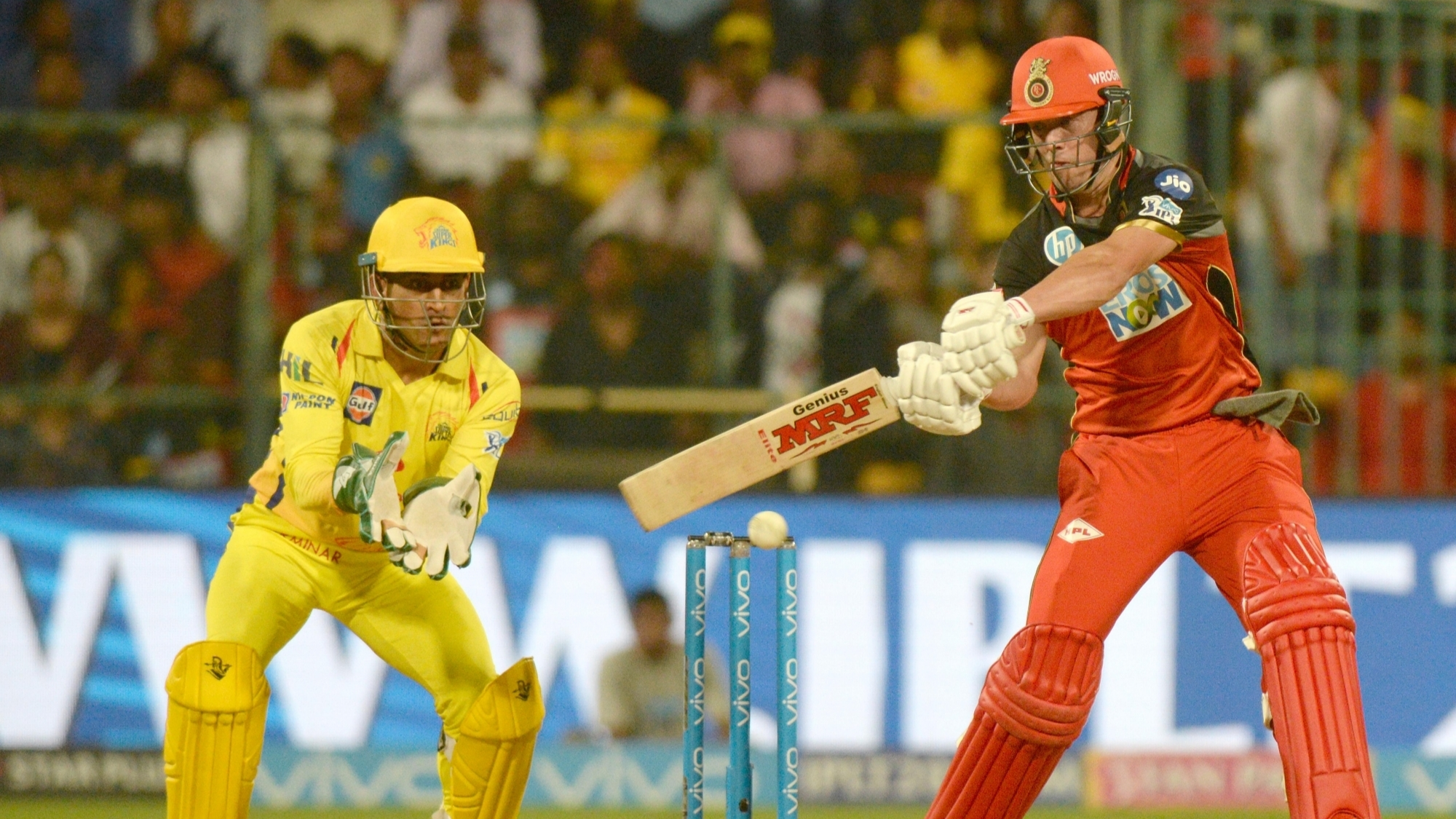 IPL 2018: Twitter reacts after AB De Villiers' quickfire 68 takes RCB to 205/8