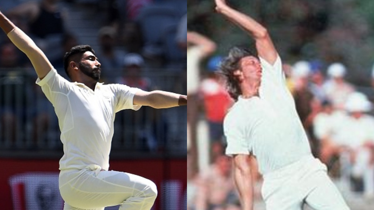 AUS v IND 2018-19: WATCH – Jasprit Bumrah's ripping delivery reminds everyone of Jeff Thomson's thunderbolts