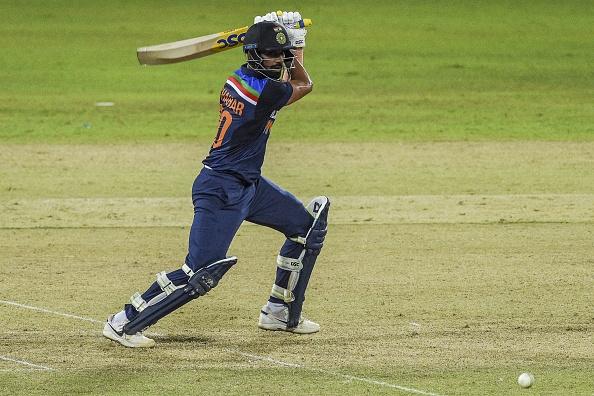 Deepak Chahar played a match-winning innings against Sri Lanka in second ODI | Getty