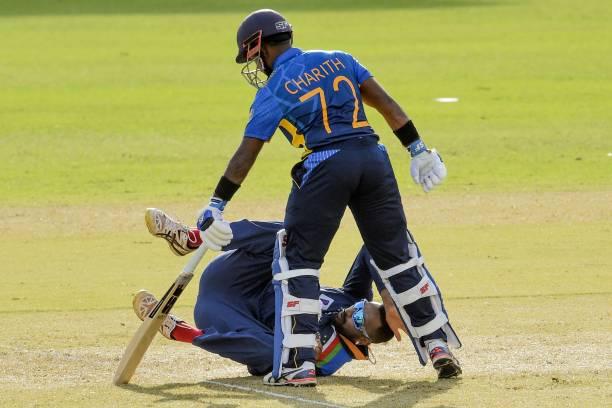Charith Asalanka scored 65 runs in the match | Getty