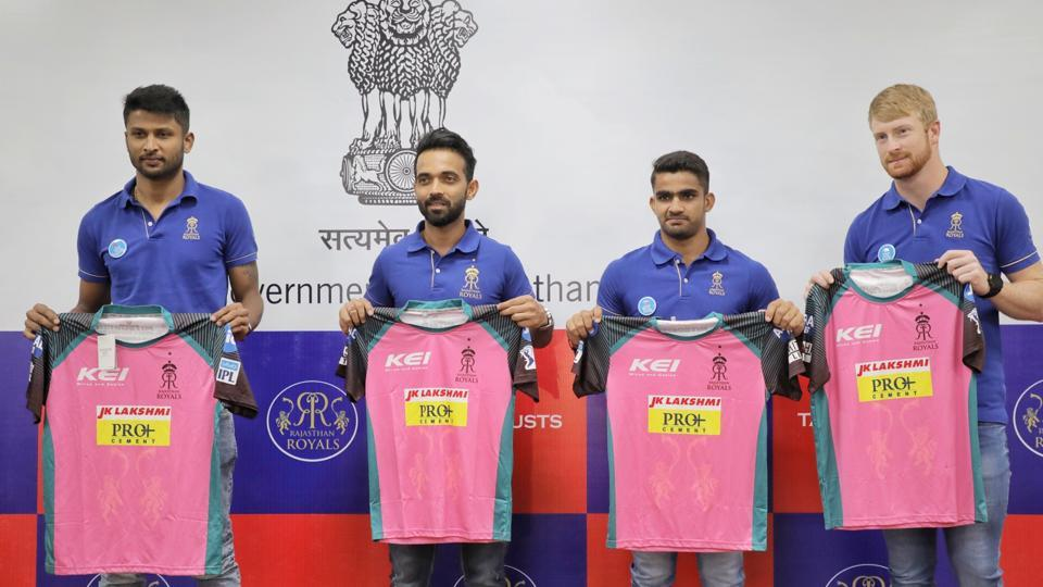 IPL 2018: Rajasthan Royals to sport a new jersey against CSK