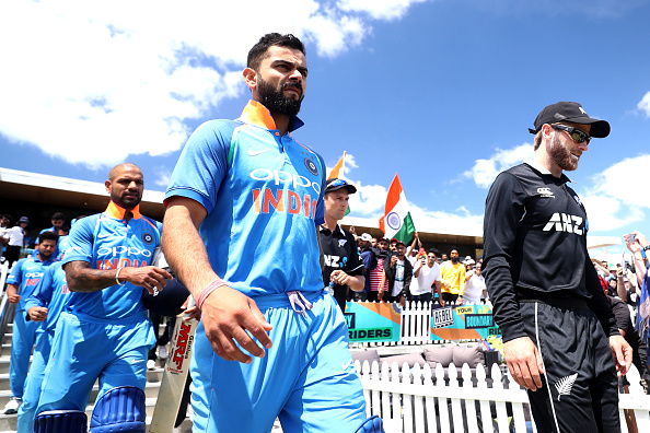 India just won 4-1 in New Zealand | Getty