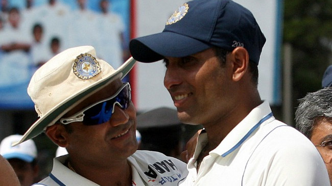 """Virender Sehwag told me that he will be the first to score 300 for India,"" writes VVS Laxman in his book"