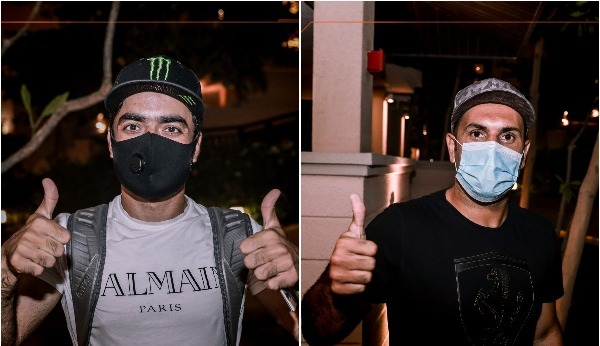 Rashid Khan and Mohammad Nabi (Source: @SunRisers/Twitter)