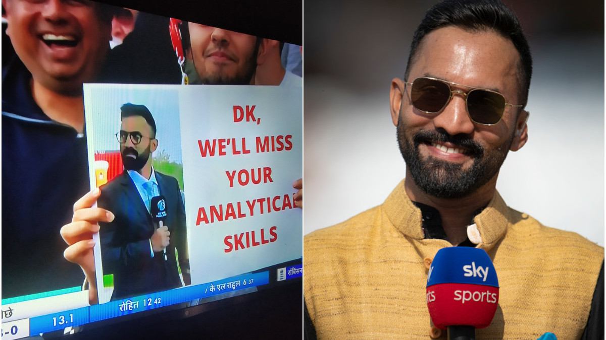 Your love made my tour more special - Dinesh Karthik's heartfelt response to a fan