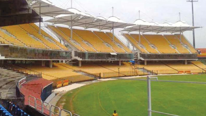 चेपॉक में आईपीएल के आगामी सीजन में एक बार फिर से तीन स्टैंड्स रहेंगे खाली