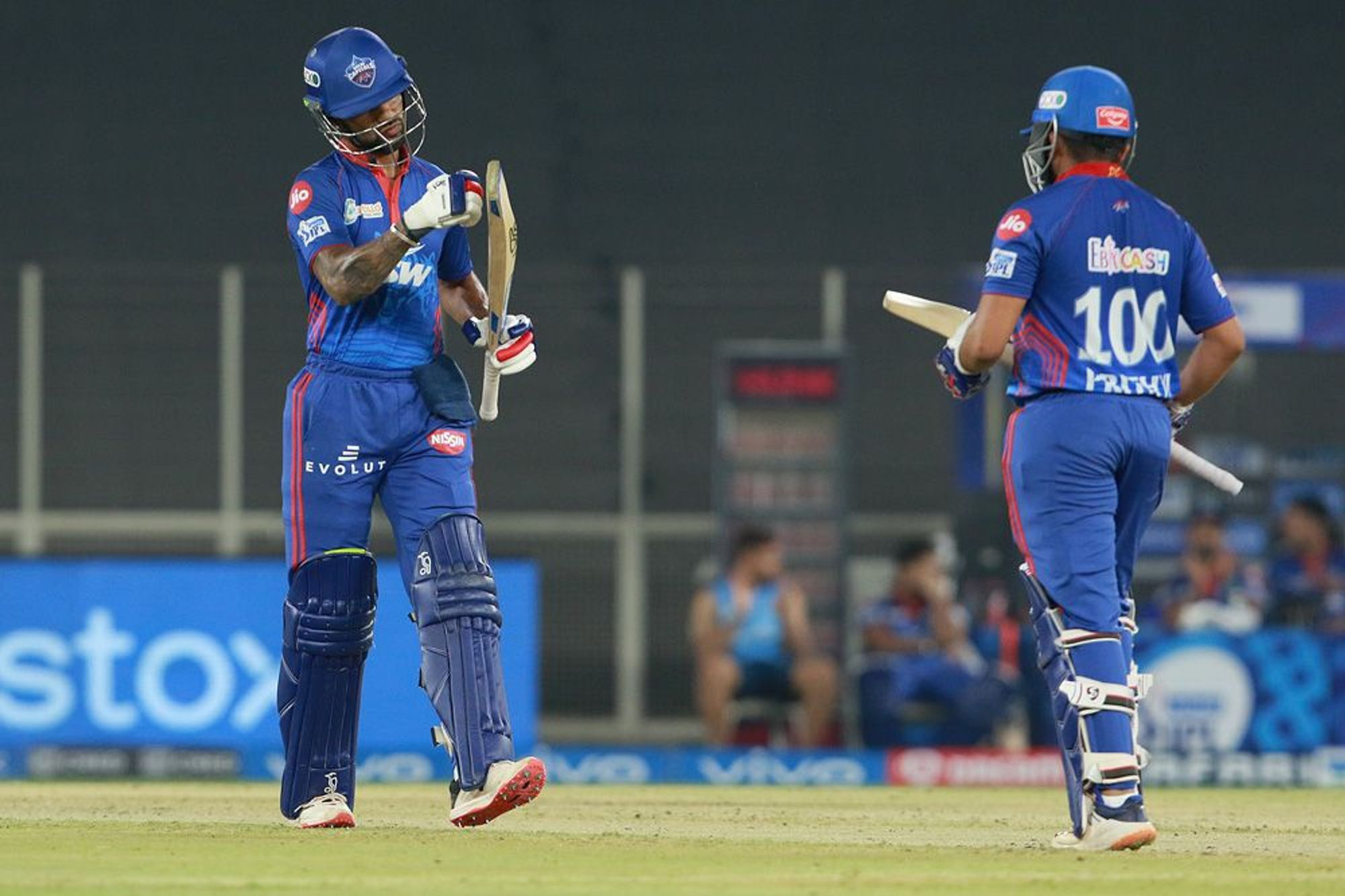 Shikhar Dhawan and Prithvi Shaw | BCCI/IPL
