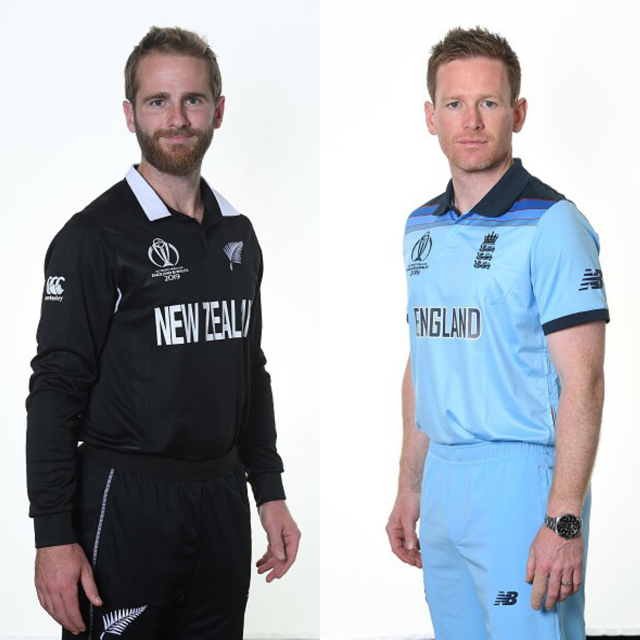 Kane Williamson and Eoin Morgan | Getty Images