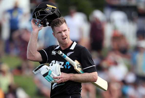 Jimmy Neesham hit Thisara Perera for 5 sixes in an over | Getty