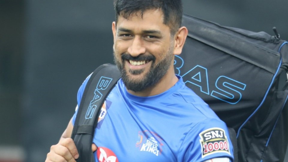 IPL 2020: First glimpse of CSK captain MS Dhoni after coming out of isolation in Dubai