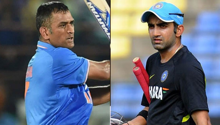MS Dhoni and Gautam Gambhir were reportedly on their way to joining BJP