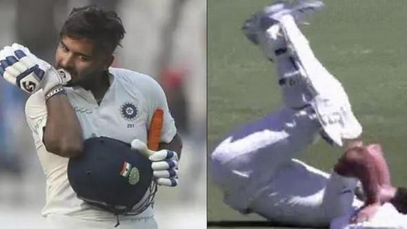 AUS v IND 2018-19 : देखिये - सिडनी टेस्ट के दौरान भारतीय विकेटकीपर-बल्लेबाज रिषभ पंत ने किया कलाबाजियों का प्रदर्शन
