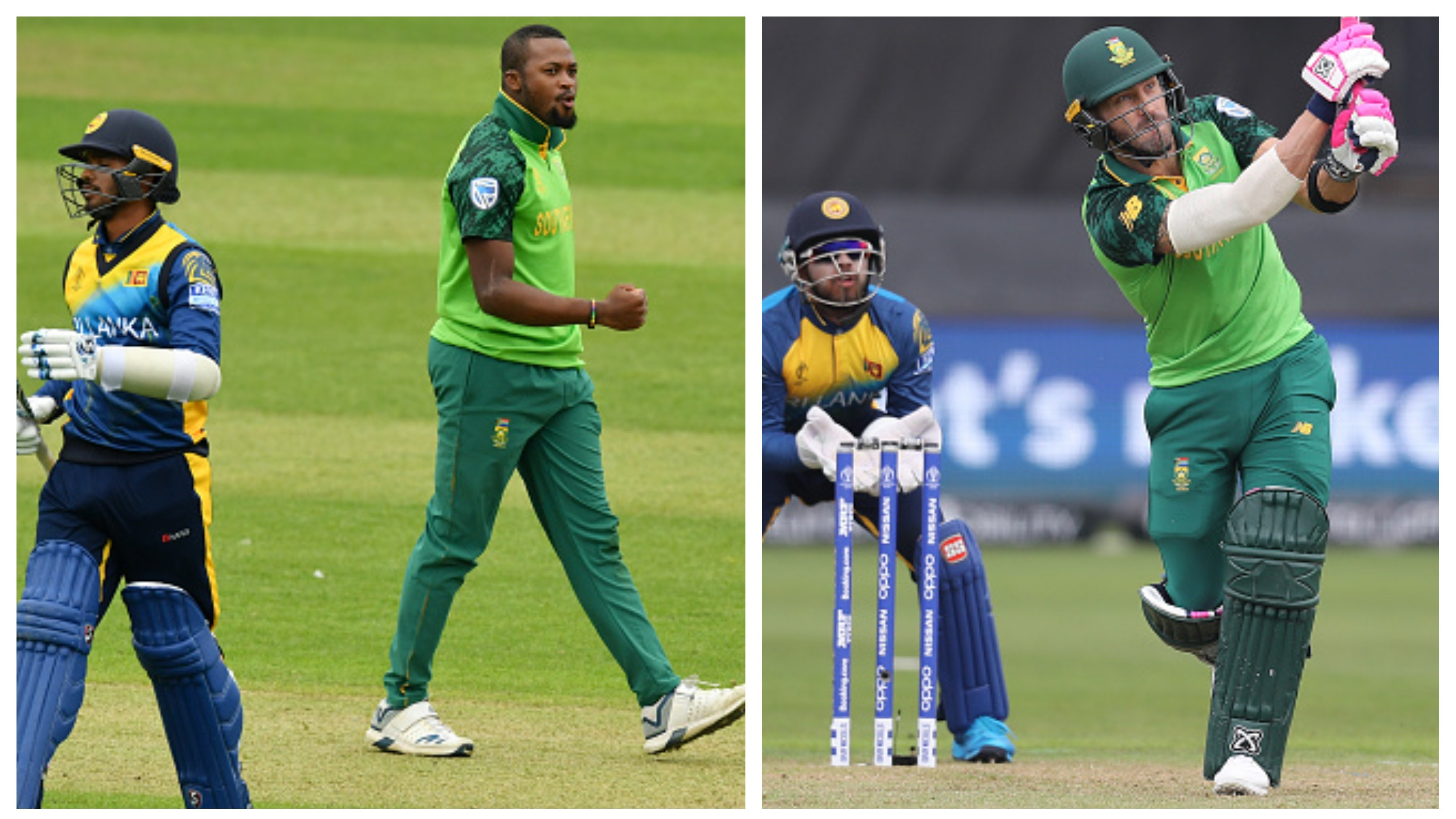 CWC 2019: Phehlukwayo's stellar spell, Du Plessis' blazing fifty power South Africa to a thumping win over Sri Lanka