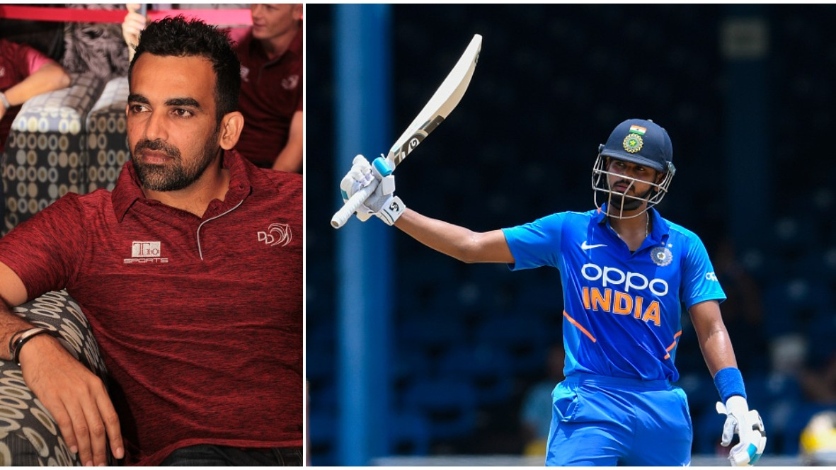 WI v IND 2019: Zaheer Khan speaks on the ideal batting position for Shreyas Iyer in ODIs