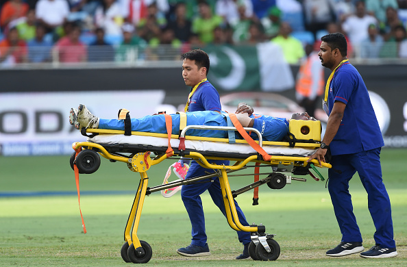Hardik Pandya was ruled out of the Asia Cup 2018 with an acute lower back injury | Getty Images