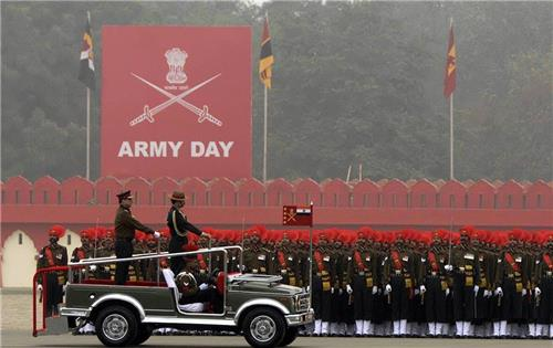 Cricket fraternity salutes the Indian Army Jawans on the occasion of Army day