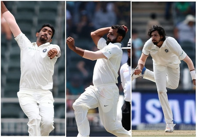 Bumrah, Ishant and Shami have done marvelous work with the ball | Getty